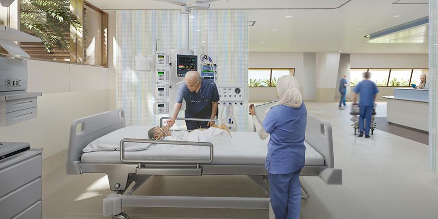 """""""القلب الكبير"""" تخصص 4 ملايين دولار لإنشاء وتجهيز وحدة العناية المركزة للأطفال في مركز مجدي یعقوب العالمي للقلب بالقاھرة"""