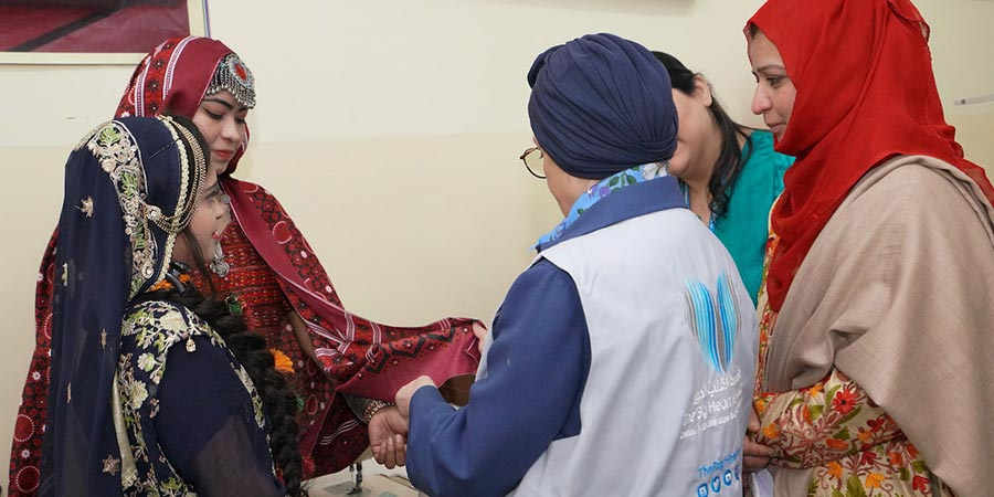 """""""القلب الكبير"""" تطلق خمسة مشاريع إنسانية في جمهورية باكستان بتكلفة تجاوزت مليون دولار أمريكي"""